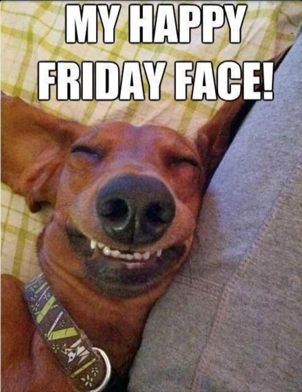 My Happy Friday Face!