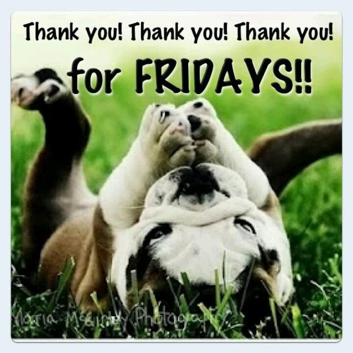 Thank you! Thank you! Thank you! for Fridays!!